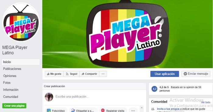 qué es Mega Player Latino